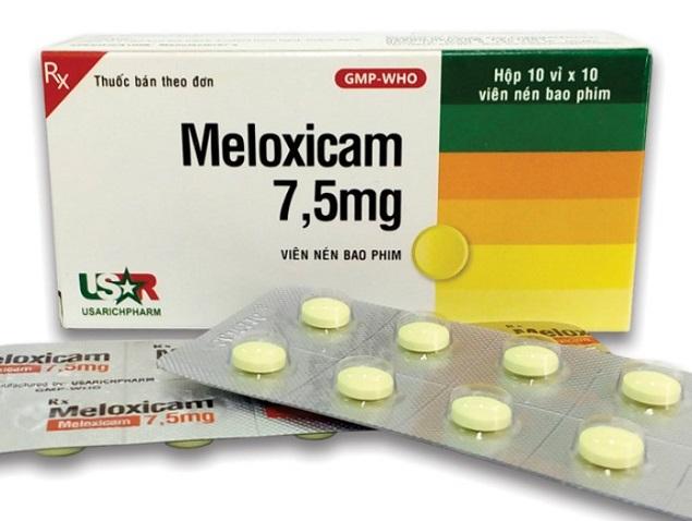 Meloxicam (Mobic 7.5mg và 15mg): Chỉ định, liều dùng, cách dùng và tác dụng phụ thuốc