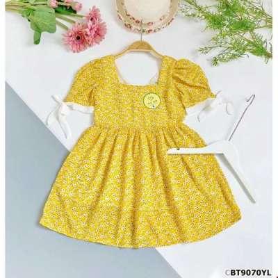 Đầm voan hoa nhí cổ vuông dáng babydoll cho bé gái Profile Picture