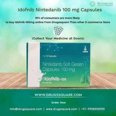 Idofnib 100 mg Nintedanib Capsule Profile Picture